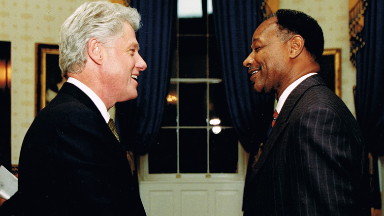 Make Me Smile - President Bill Clinton & Bishop Merritt