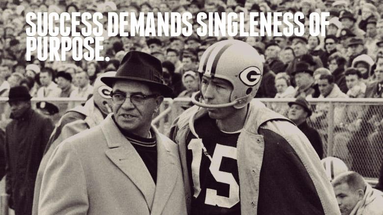 Vince Lombardi's Wisdom